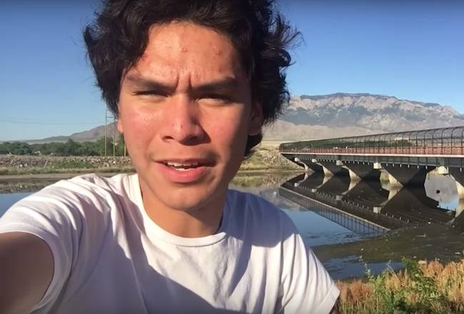 Forrest Goodluck talking about the challenges faced by youth in 2016