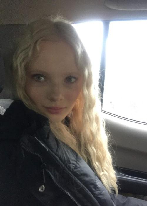 Freya Allan as seen in Budapest, Hungary in January 2020