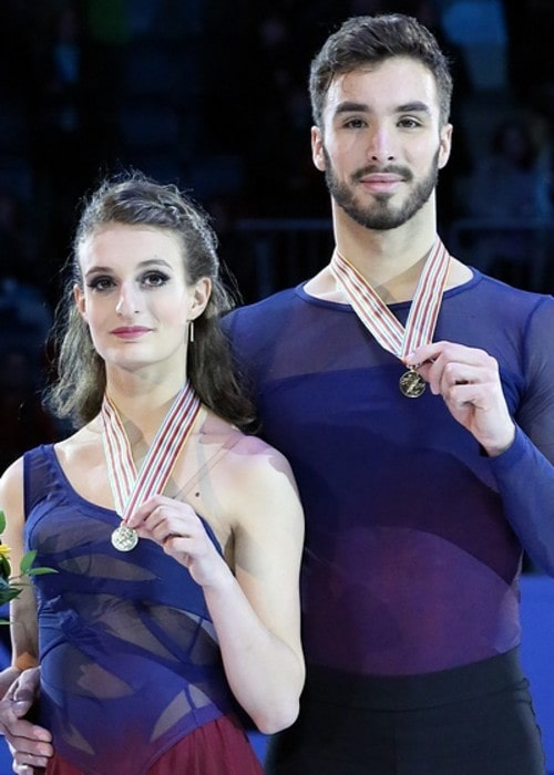 Gabriella Papadakis and Guillaume Cizeron as seen in January 2016