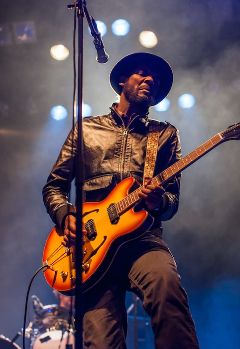 Gary Clark Jr performing live at Supersonic in 2012
