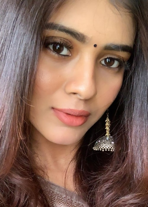 Hebah Patel as seen in a closeup selfie taken in June 2019