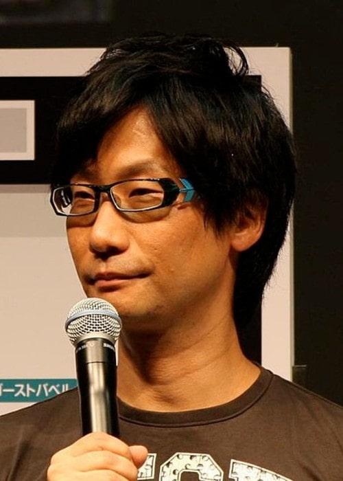 Hideo Kojima as seen in September 2011