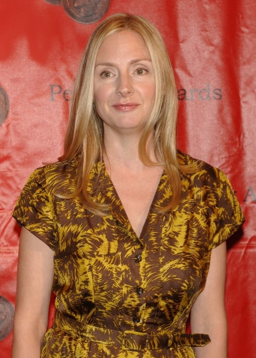 Hope Davis as seen at the 2010 Peabody Award in May 2010