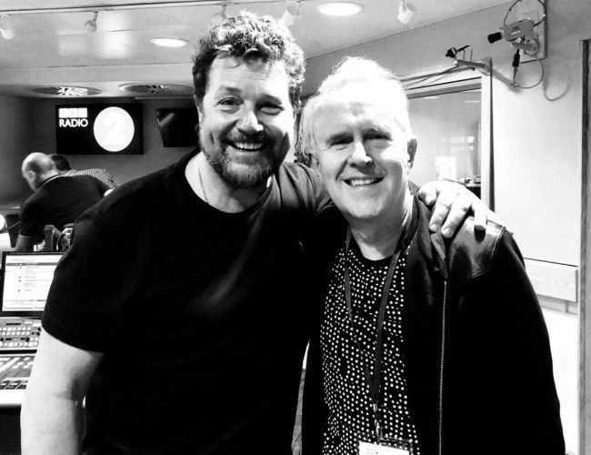 Howard Jones (Right) and Michael Ball as seen in July 2019
