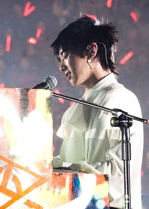 Hua Chenyu as seen while performing in October 2017