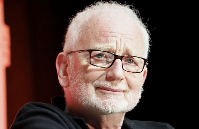 Ian McDiarmid as seen in April 2019