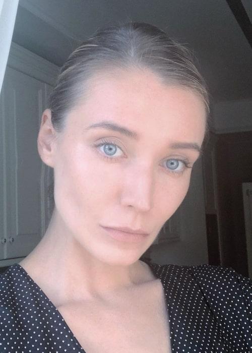 Inna Pilipenko as seen in a selfie taken in Moscow in June 2019