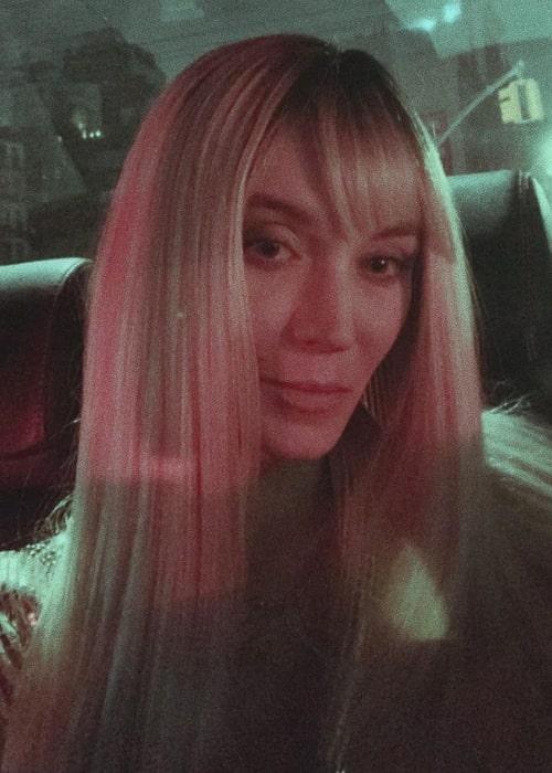 Inna Pilipenko as seen in a selfie taken in New York City, New York in November 2019