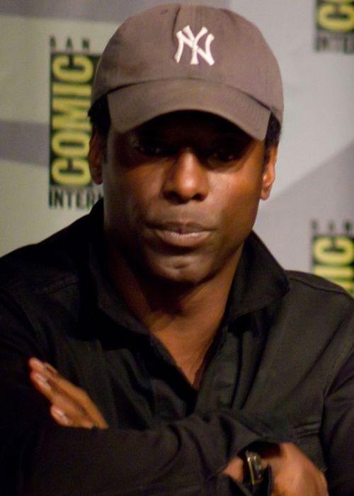 Isaiah Washington seen at the San Diego Comic Con in 2013