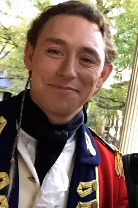 JJ Feild in a selfie as seen in July 2019