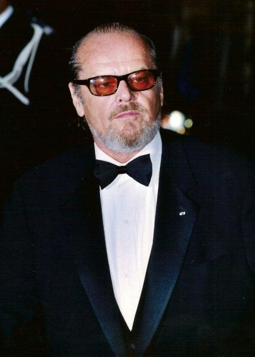 Jack Nicholson as seen in 2002