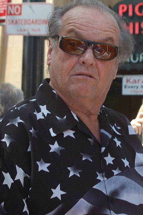 Jack Nicholson as seen in March 2010