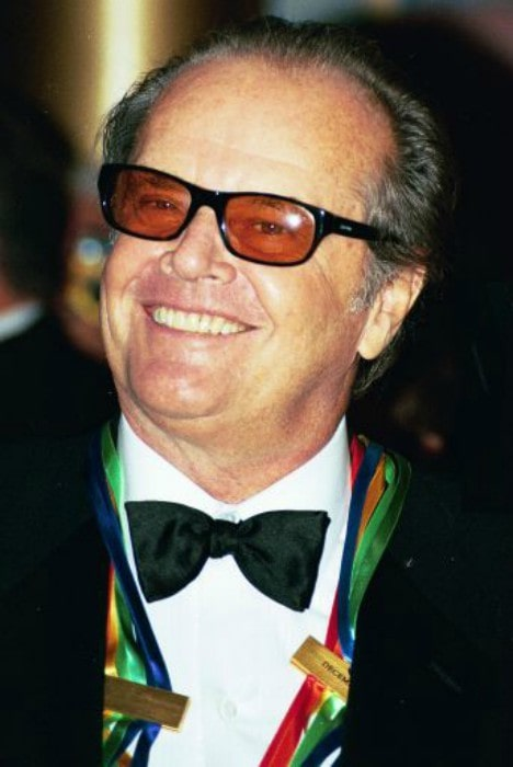 Jack Nicholson at Kennedy center in December 2001