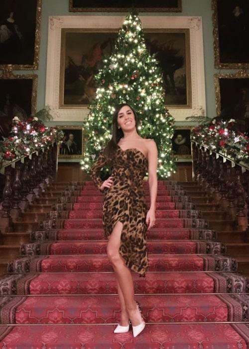 Janette Manrara as seen in a picture taken in December 2019