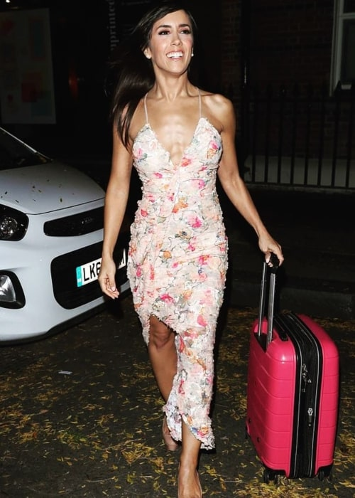 Janette Manrara as seen in a picture taken in October 2019