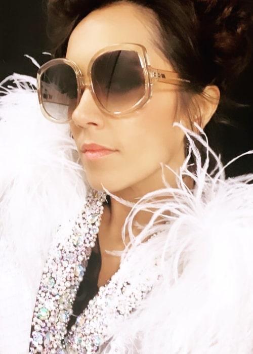 Janette Manrara as seen in a selfie taken in November 2019