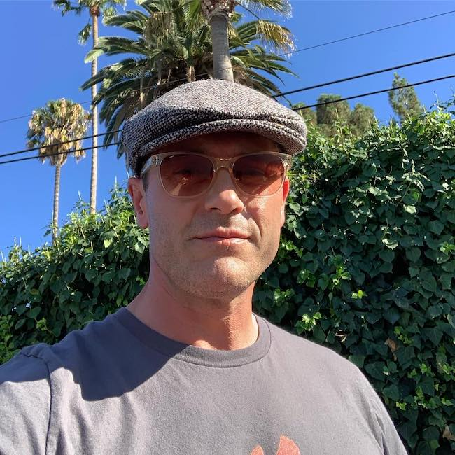 Jason O'Mara wearing Hanna Hat in August 2019