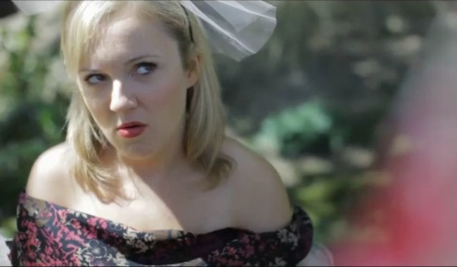 Jennifer Neala Page in a still from an episode of Shazza in 2013