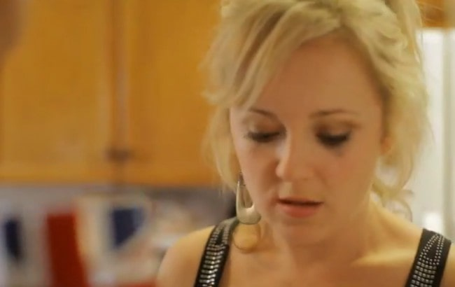 Jennifer Neala Page in a still from the 2013 series Shazza