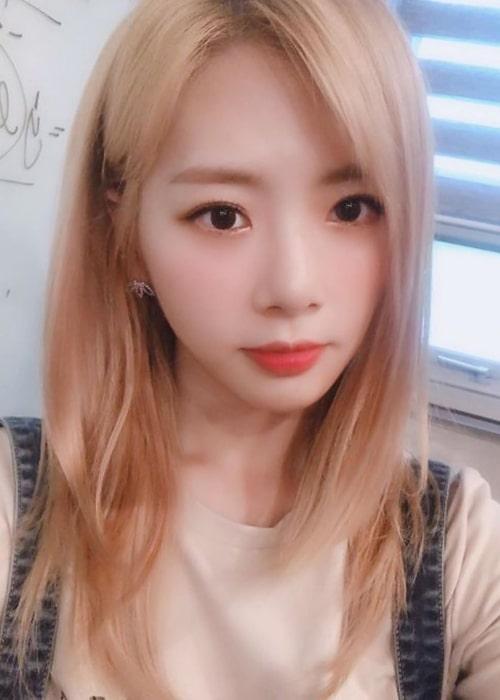 Jiu as seen in a selfie taken in August 2019
