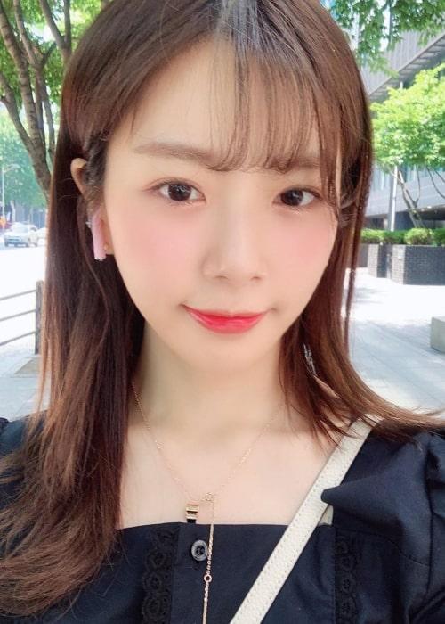 Jiu as seen in a selfie taken in June 2019