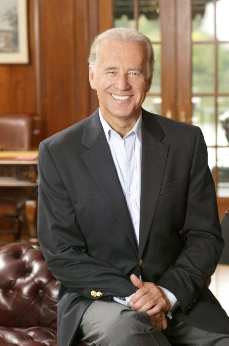 Joe Biden as seen in an official photo portrait