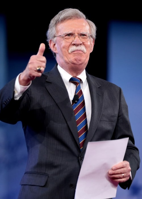 John Bolton as seen while speaking at the 2017 Conservative Political Action Conference (CPAC) in National Harbor, Maryland, United States in February 2017