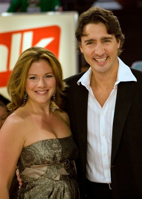 Justin Trudeau and Sophie Gregoire as seen in September 2008