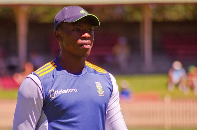 Kagiso Rabada as seen in November 2014