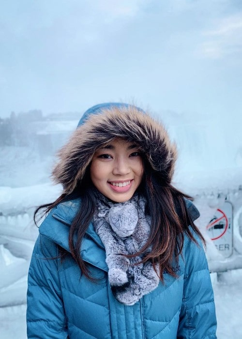 Karen Chen as seen in December 2019