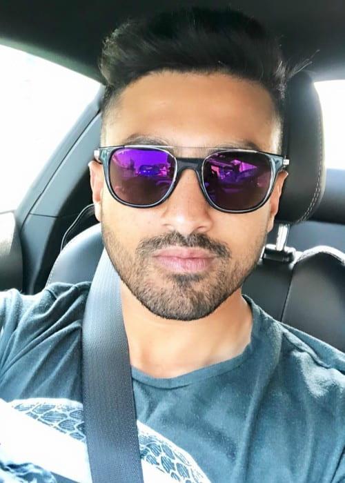 Karun Nair in an Instagram selfie as seen in March 2019
