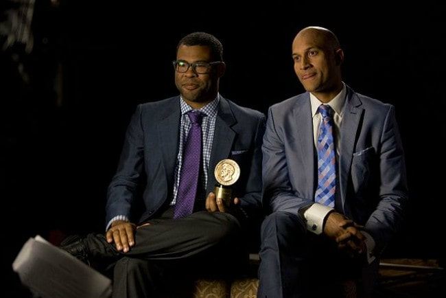 Keegan-Michael Key (Right) and Jordan Peele as seen in May 2014