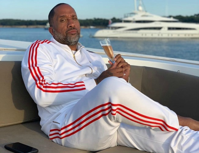 Kenya Barris in an Instagram post as seen in July 2019