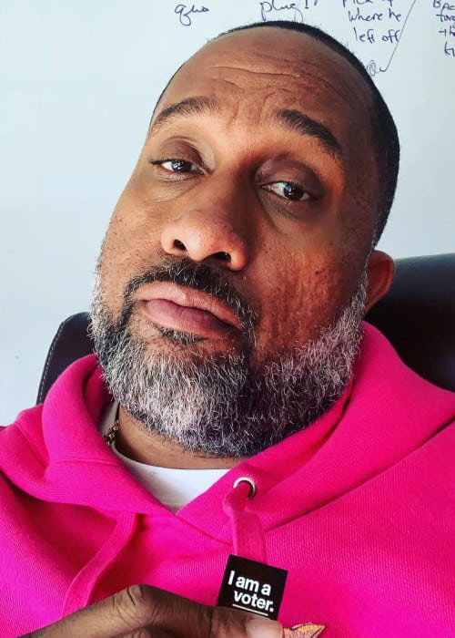 Kenya Barris in an Instagram selfie as seen in November 2018