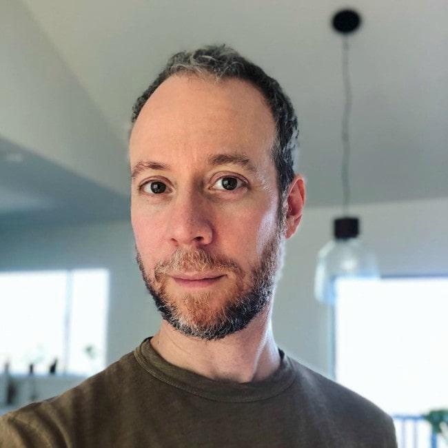 Kevin Sussman in an Instagram selfie as seen in July 2019