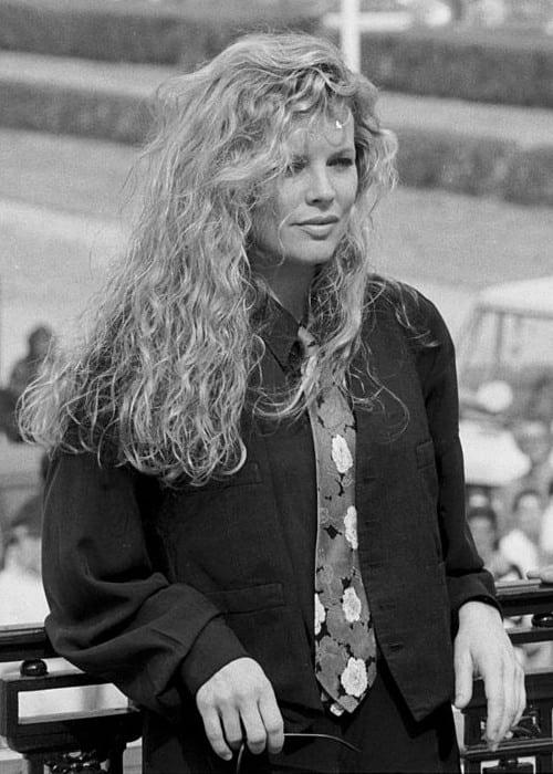 Kim Basinger as seen in September 1989