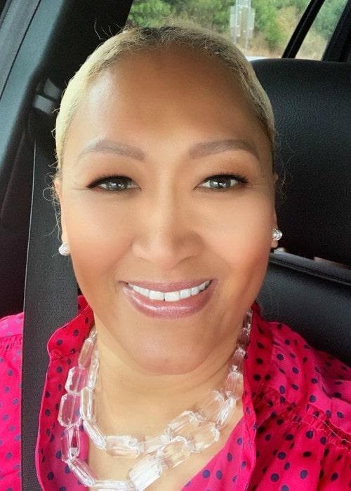 Kim Elba in a selfie as seen in October 2019