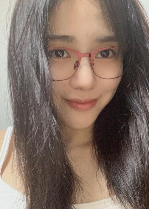 Kwon Mina as seen in a selfie taken in September 2019