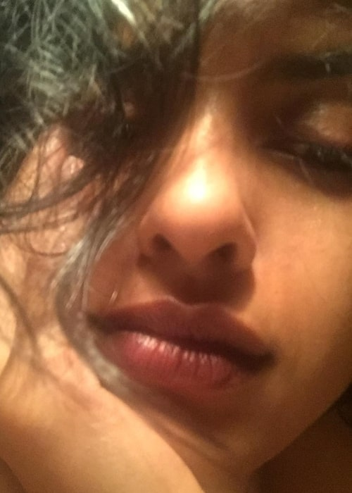Lakshmi Menon as seen in a close-up selfie taken without any filters in May 2017