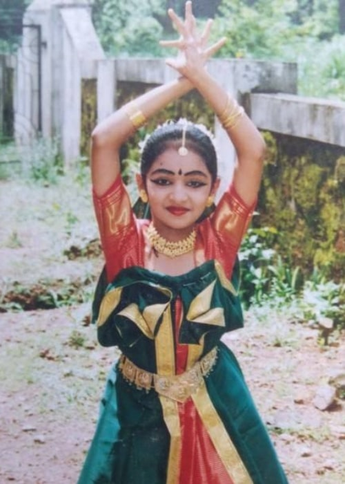 Lakshmi Menon as seen in a picture taken during her younger days