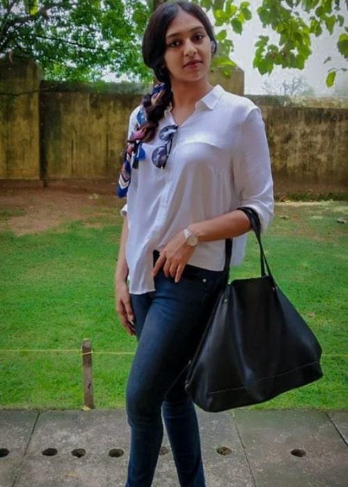 Lakshmi Menon as seen in a picture taken in October 2019