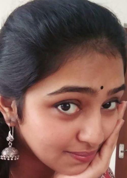 Lakshmi Menon as seen in a selfie taken in June 2016
