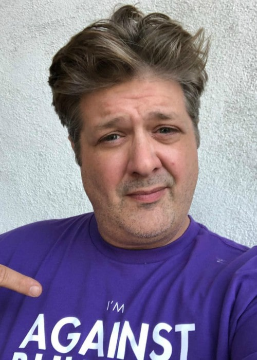 Lance Barber in an Instagram selfie as seen in October 2019
