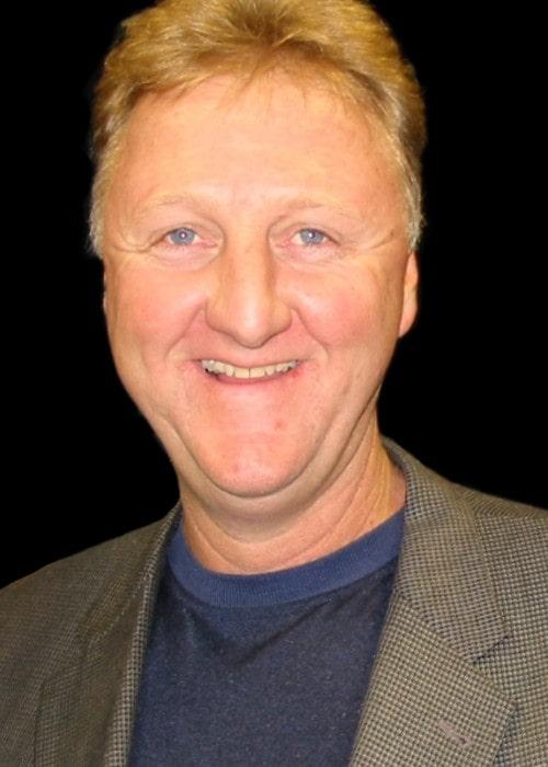 Larry Bird as seen in October 2009