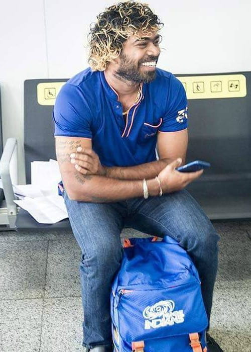 Lasith Malinga in an Instagram post as seen in May 2017