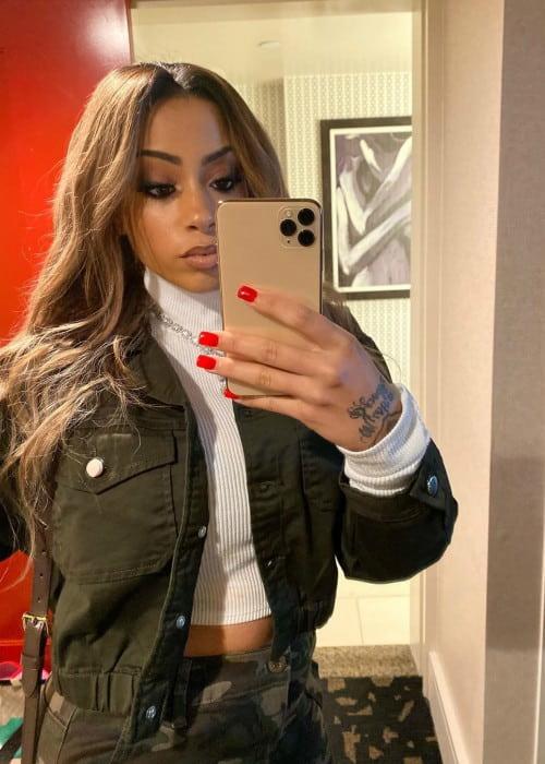 Layton Greene in a selfie in October 2019