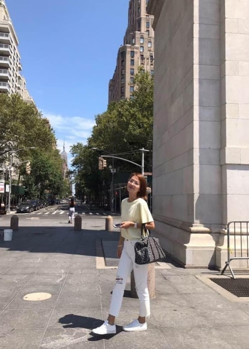 Lee Jin as seen in a full length picture taken in August 2019