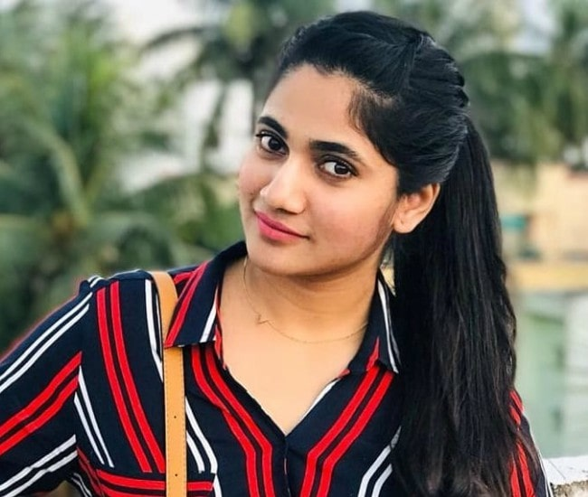 Losliya Mariyanesan in an Instagram post in December 2019