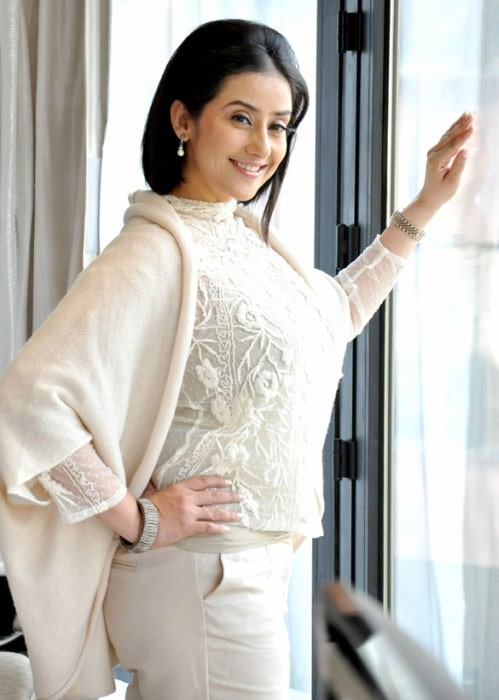 Manisha Koirala as seen in October 2012