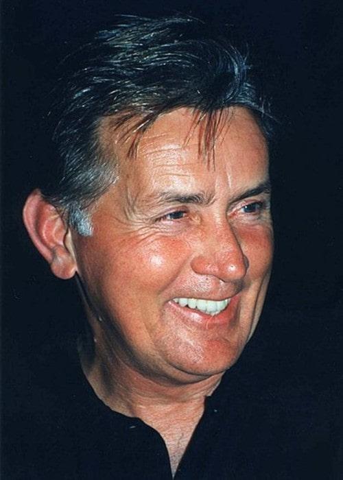 Martin Sheen as seen in August 1995